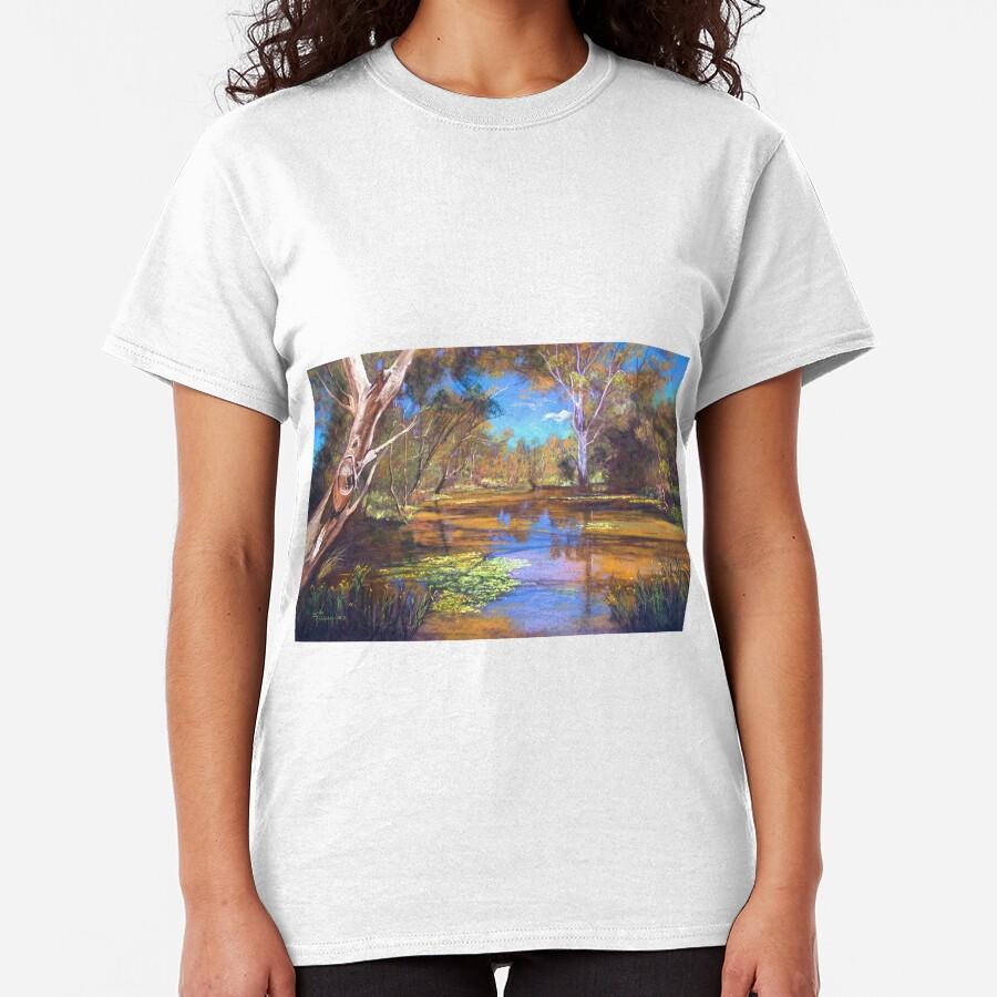 'Tahbilk Wetlands' Classic T-Shirt