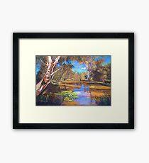 'Tahbilk Wetlands' Framed Print