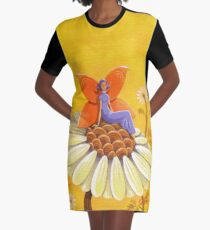 Singing Camomile Fairy Graphic T-Shirt Dress