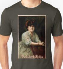 Blanche Berndt Mehaffey soprano - Courier Co - 1907 T-Shirt