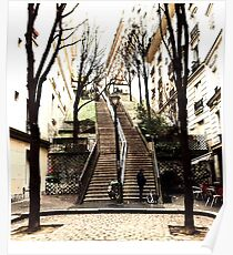 The Long Steps In Paris Poster