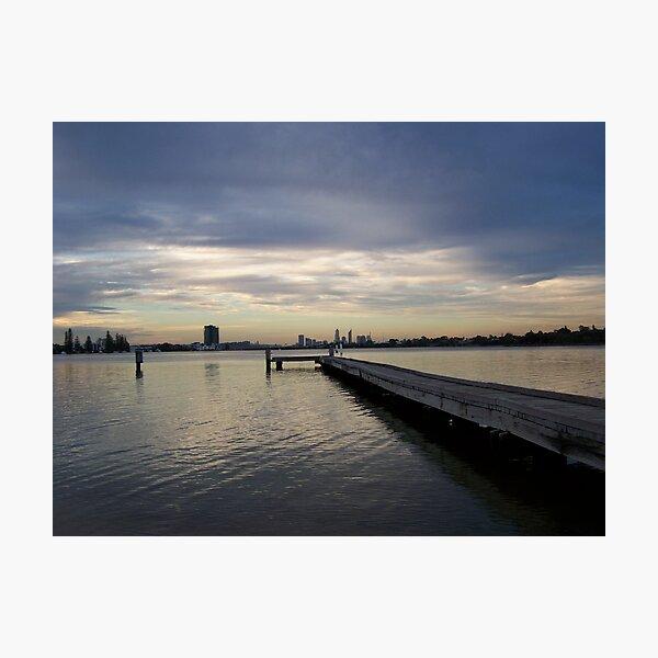 Swan River Applecross Photographic Print