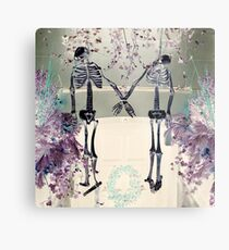 I Love You To Death In Paris Metal Print