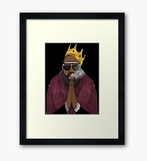 Rick Ross Framed Print
