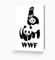 WWF Parody  Greeting Card
