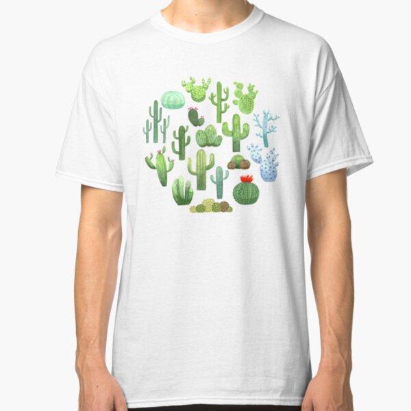 Watercolor Cactus Classic T-Shirt
