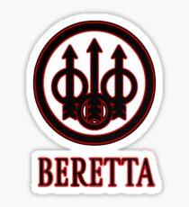 Beretta Firearms Logo Sticker