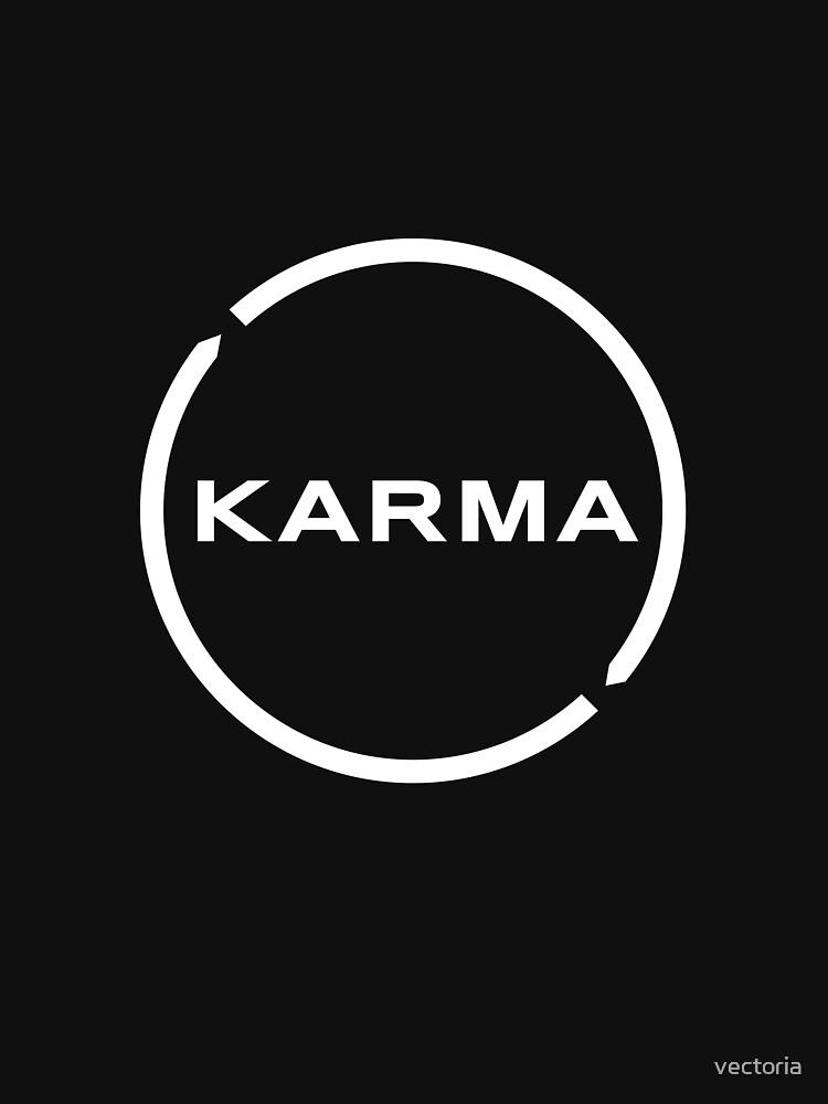 Karma Logo by vectoria