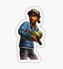 The Walking Dead Clementine Sticker