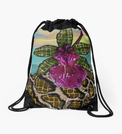 Sunset  Drawstring Bag