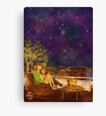 Star-gazing Canvas Print