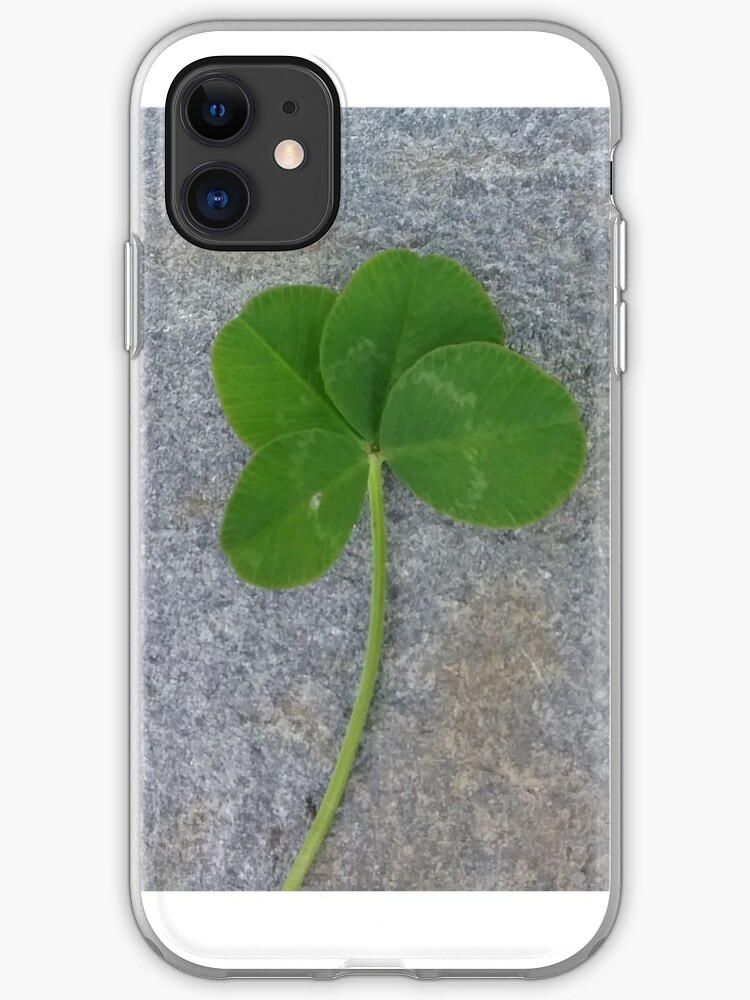 Trèfle à quatre feuilles | Coque iPhone