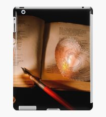 An antique mysterious book iPad Case/Skin