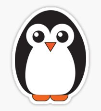 (Adorable!) Cartoon Penguin Sticker