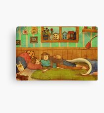 Soft and cozy Canvas Print