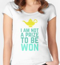 Prize to Be Won Women's Fitted Scoop T-Shirt