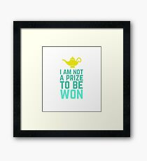 Prize to Be Won Framed Print