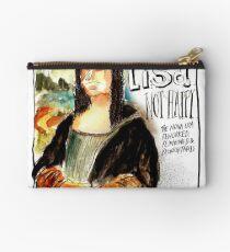 Mona Lisa - Not Happy Studio Pouch