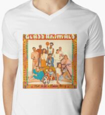 Glass Animals - album cover Men's V-Neck T-Shirt