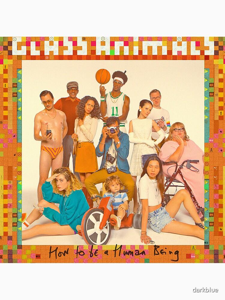Glass Animals - album cover by darkbIue