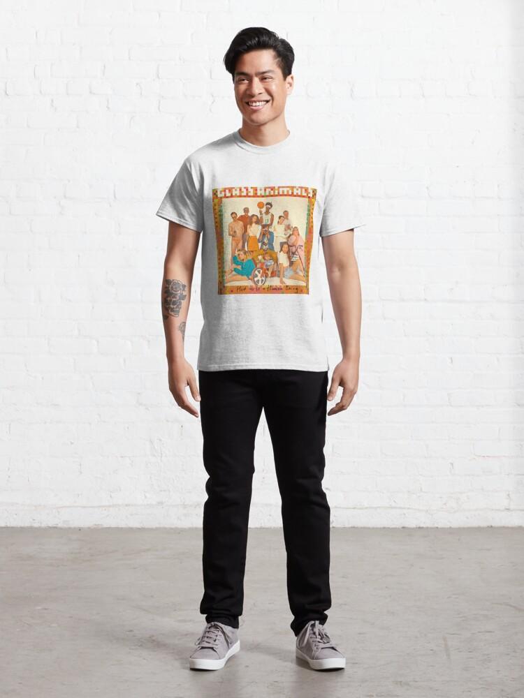 Alternate view of Glass Animals - album cover Classic T-Shirt