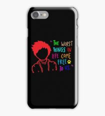 QUOTE OF ED SHEERAN iPhone Case/Skin