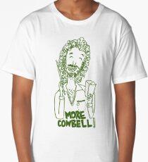 More cowbell - green image Long T-Shirt