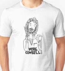 More cowbell - black image T-Shirt