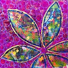 Time to Bloom - an Ahahata Codes infused intuitive painting by mellierosetest