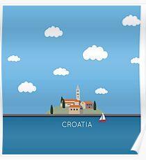 Segel Kroatien Poster