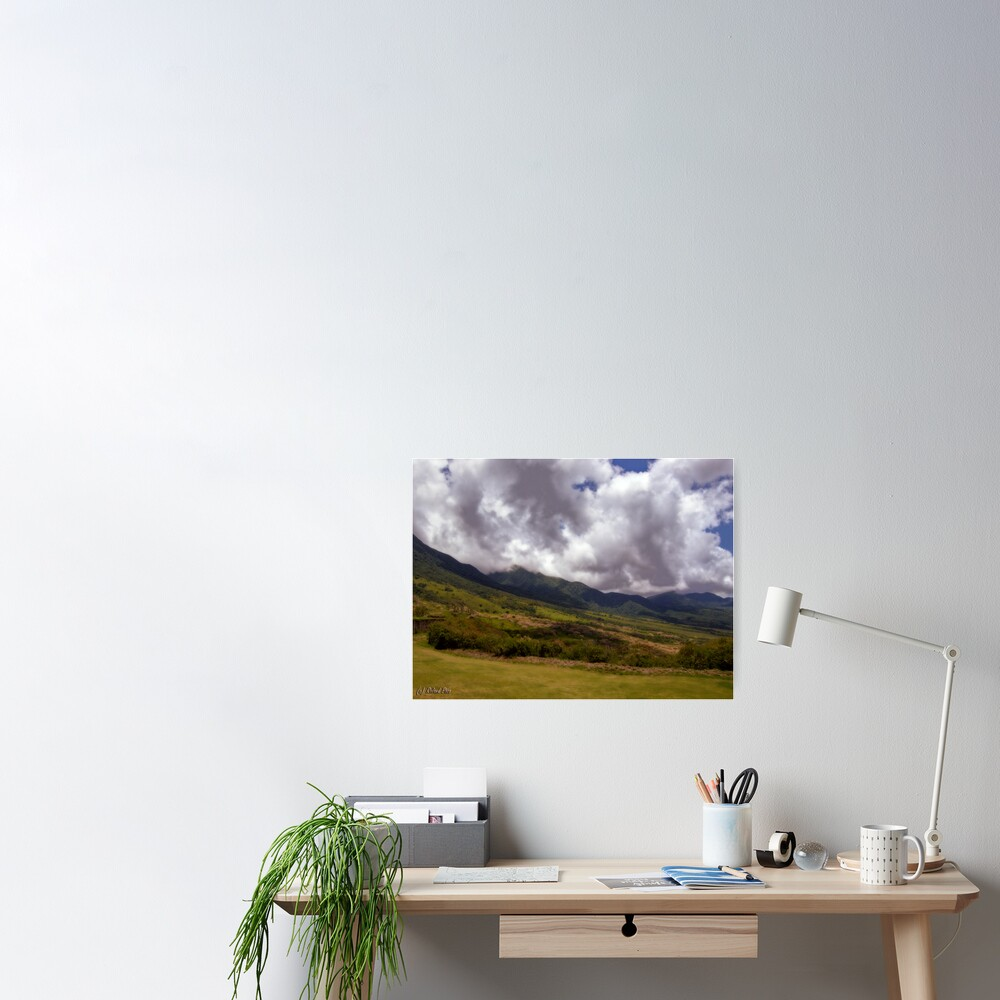 Mountain Clouds Poster