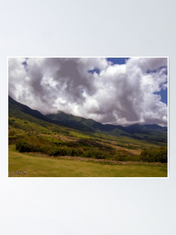 Alternate view of Mountain Clouds Poster