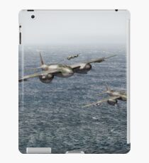 Mosquito fighter bombers over the North Sea iPad Case/Skin