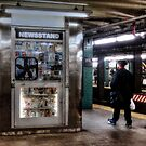 NY Newsstand by Stephen Burke
