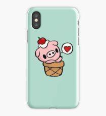 cute pig iPhone Case