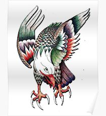 Pen Eagle Poster