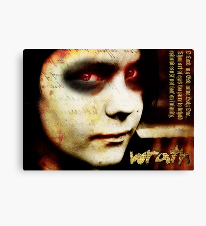 Wrath Canvas Print