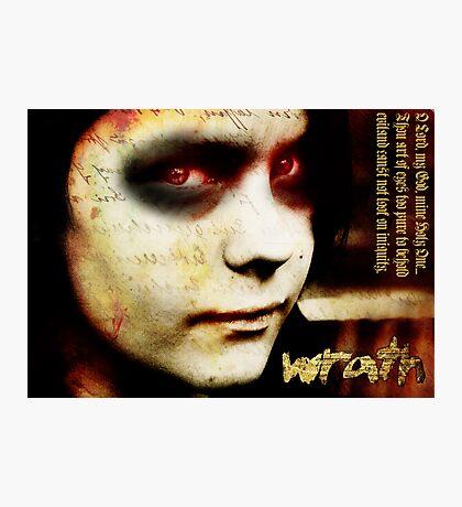 Wrath Photographic Print