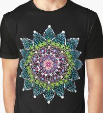 Vibrant Wabi-Sabi Life - Buddhist Mandala Graphic T-Shirt