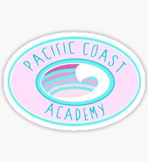 Pacific Coast Academy Zoey 101 Pink Sticker