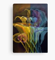 Calla Lilly vibes Canvas Print