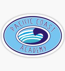Pacific Coast Academy Zoey 101 Sticker