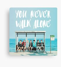 bts - you never walk alone  Canvas Print