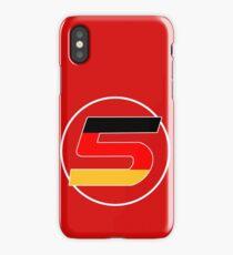 Sebastian Vettel Number 5 German iPhone Case/Skin