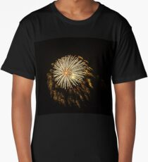 Explosive Fireworks Long T-Shirt