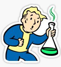 Fallout - Science Vault Boy Sticker