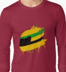 Ayrton senna helmet Long Sleeve T-Shirt