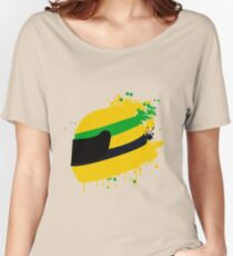 Ayrton senna helmet Women's Relaxed Fit T-Shirt