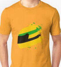Ayrton senna helmet Unisex T-Shirt