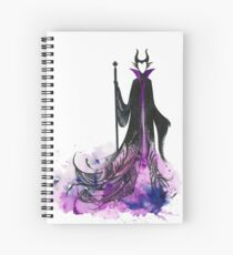 Maleficent Spiral Notebook